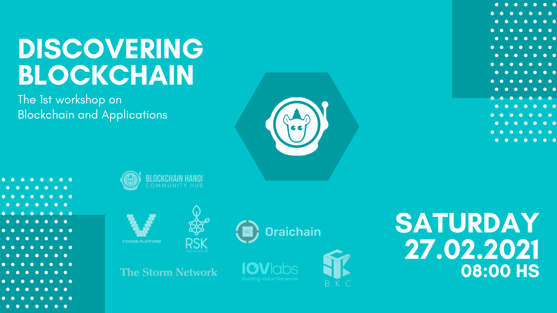 Discovering Blockchain – Workshop 1